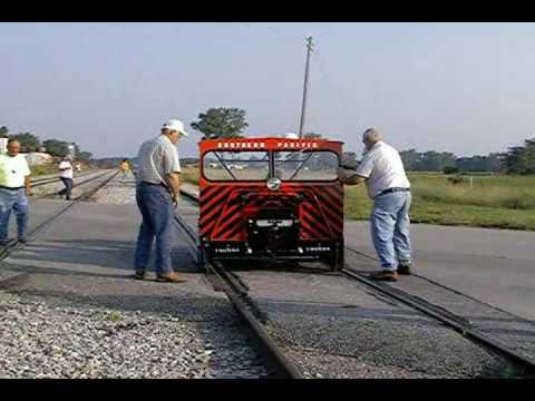 Railroad Motorcar  Run from Centerville IA TO Albia Ia