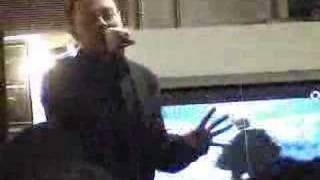 Darren Hayes sings Unlovable Live Borderilne Chicago 2007