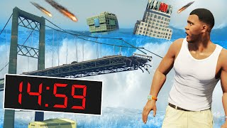 GTA 5 - EVERY 5 MINUTES = NATURAL DISASTER!