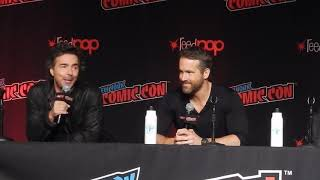 Highlights of Ryan Reynolds surprise visit to NYCC Panel: Free Guy - Part 1