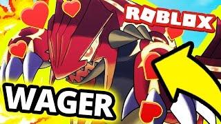 Roblox: HEART AURA GROUDON WAGER MATCH! (Project Pokemon)