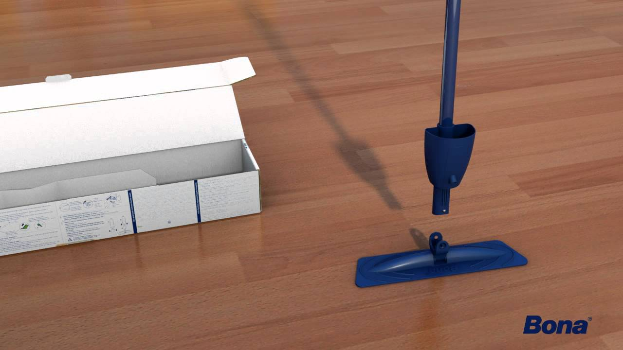 How to assemble and use your bona spray mop youtube dailygadgetfo Choice Image
