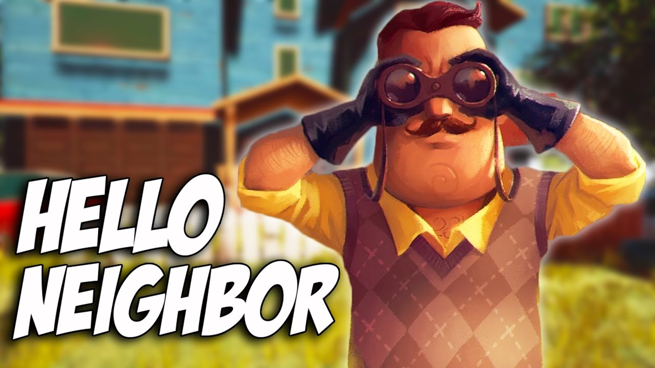Hello Neighbor | MISTERIOZNI KOMSIJA - YouTube