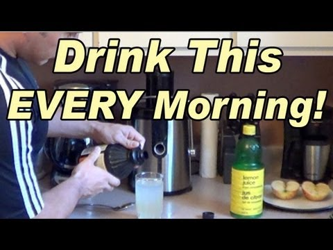 Drink This EVERY Morning! - Lemon Juice & Apple Cider Vinegar