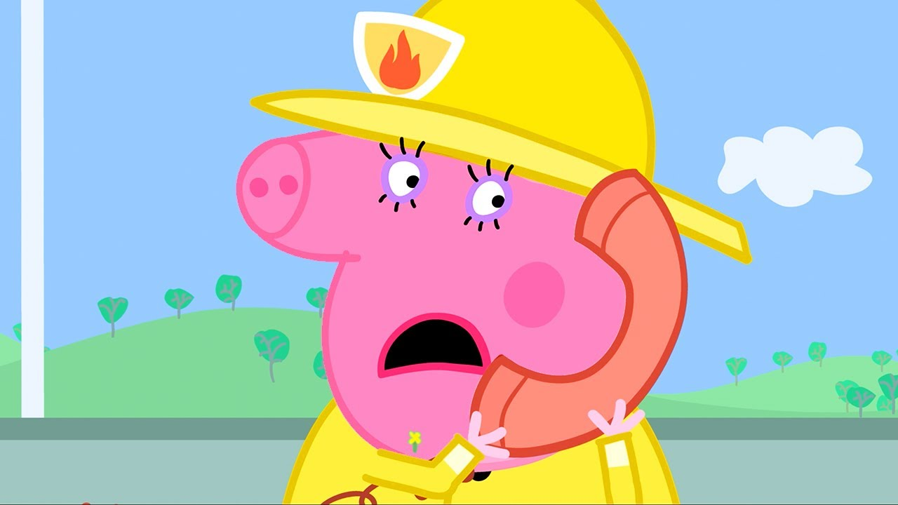 Peppa Pig Official Channel | Fire Engine  | Peppa Pig Episodes