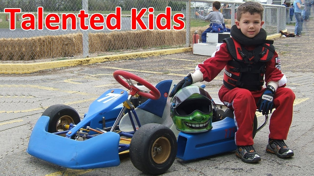 Talented Little Kids On Go Karts 2018