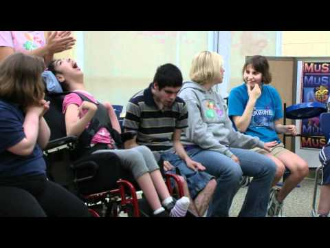 Arts in Community: Music Therapy at WoodsEdge Learning Center