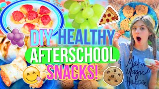 DIY Healthy After School Snacks!! | Easy and Delicious!!