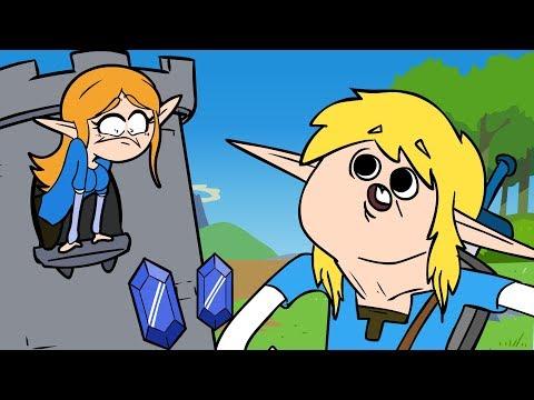 Zelda: Bad of the Wild (Legend of Zelda: Breath of the Wild Parody)