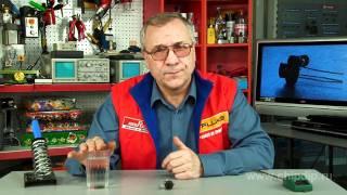 Простой датчик-сигнализатор уровня воды. ...(Подписывайтесь на нашу группу Вконтакте — http://vk.com/chipidip, и Facebook — https://www.facebook.com/chipidip * Датчик уровня воды..., 2011-04-22T23:05:48.000Z)