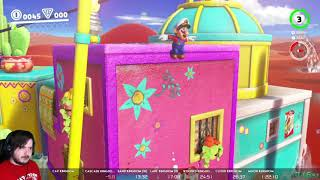 Super Mario Odyssey Any% in 1:18:54