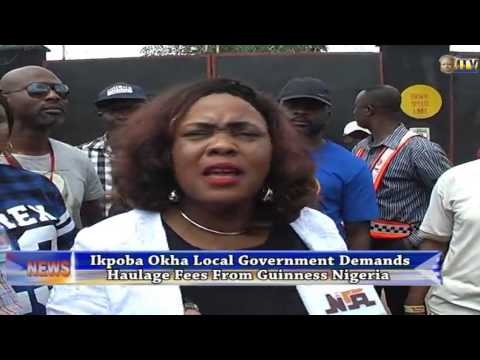 Ikpoba Okha demands haulage fees from Guinness Nigeria