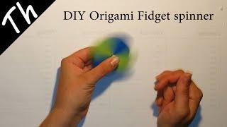 DIY Origami Fidget spinner