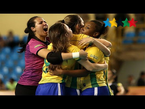 Semi Final Women BRAZIL vs PORTUGAL -  5th World University Futsal Championship 2016 - Goiânia