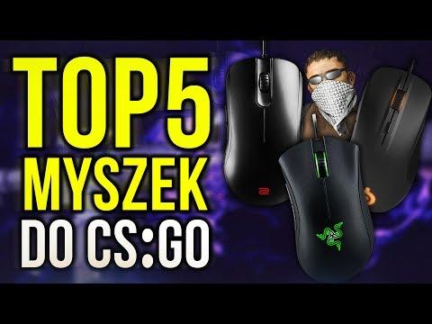 TOP 5 Myszek do CS:GO💣 - Najlepsze Gamingowe Myszki 2017🔥