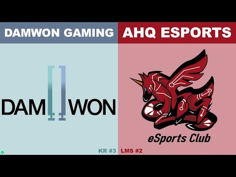 DWG vs AHQ - Worlds 2019 Group Stage Day 8 - DAMWON Gaming vs ahq e-Sports Club