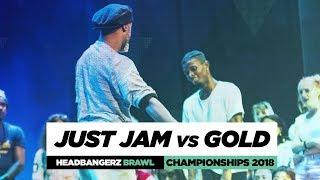 Just Jam vs Gold | Headbangerz Brawl Finals | World of Dance Championships 2018 | #WODCHAMPS18
