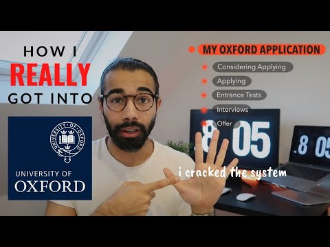 how i REALLY got into oxford