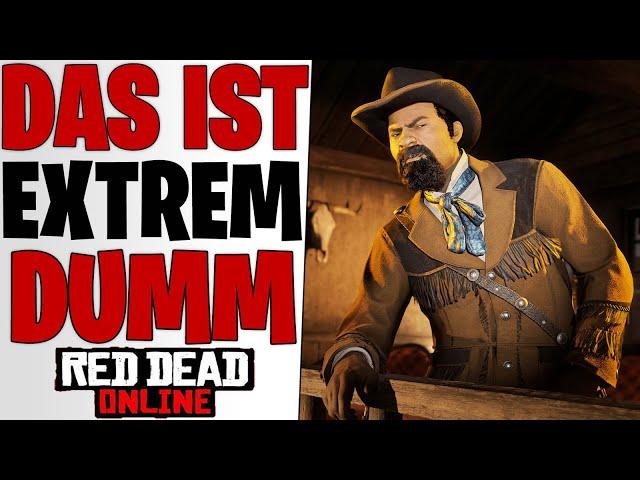 EXTREM DUMM - Rockstar Nerft Tägliche Herausforderungen | Red Dead Redemption 2 Online deutsch