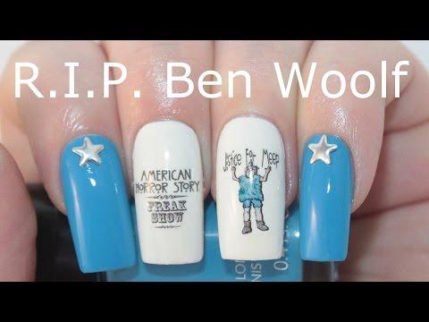 Tribute Nail Art  Ben Woolf  American Horror Story