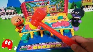 アンパンマン アニメ&おもちゃ 懐かしいおもちゃ ワニワニパニック で遊んだよ!めちゃくちゃ早くてビックリしたよ! thumbnail