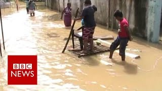 Sri Lanka floods  Residents afraid as more rain forecast   BBC News