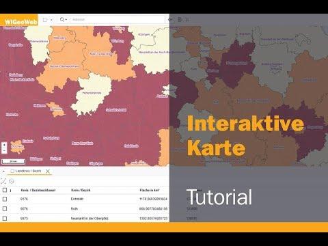 Interaktive Karte Erstellen - Professionell Mit WebGIS WIGeoWeb (Tutorial)