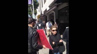 Fighting neo Nazis in Beverly Hills