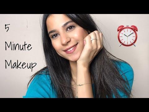 5 MINUTE MAKEUP | Dina Dash