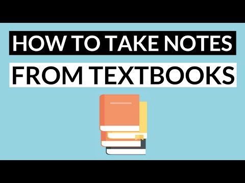 How to Take Notes from a Textbook Effectively  - 5 Steps: Note Taking Method