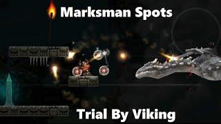 Marksman spots - Trial By Viking - 2D Action Platforming!