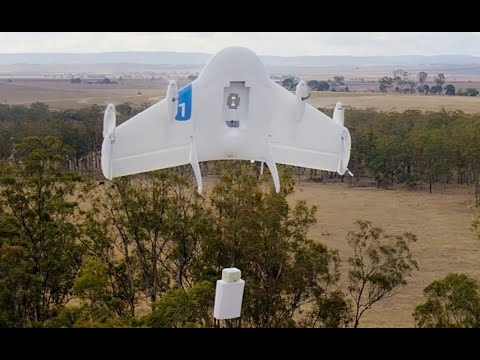 Google tests drone delivery service in Australian outback