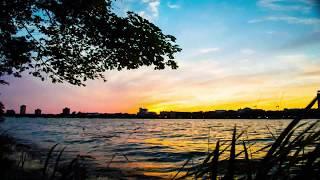 2016 Boston Pops July 4th Charles River Esplanade Sunset & Fireworks Timelapse - 4K