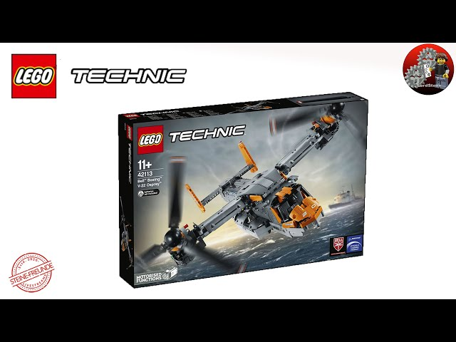 Top Technic Modell,  Lego® Technic 42113 Bell Boeing V22-Osprey mit verbesserten Getriebe
