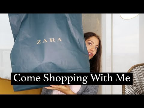Come Shopping With Me At Zara   Love Of Mode