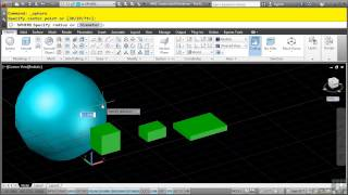 AutoCAD 3D Tutorial | Create Solid Primitives - The Basics