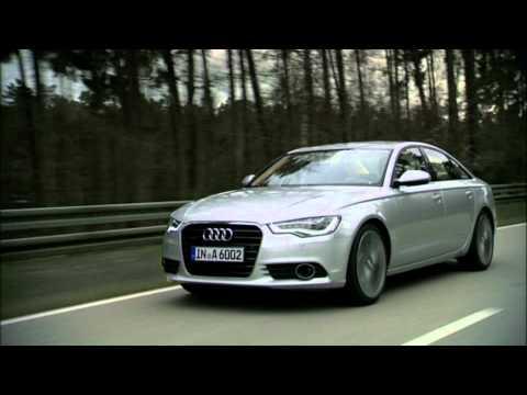 2012 Audi A6 Sedan Driving