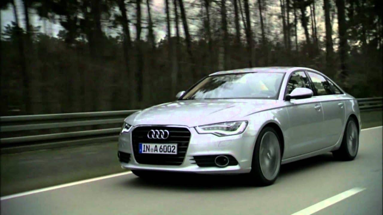 2012 Audi A6 Sedan Driving Youtube