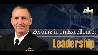 Zeroing in on Excellence MCPON Mike Stevens