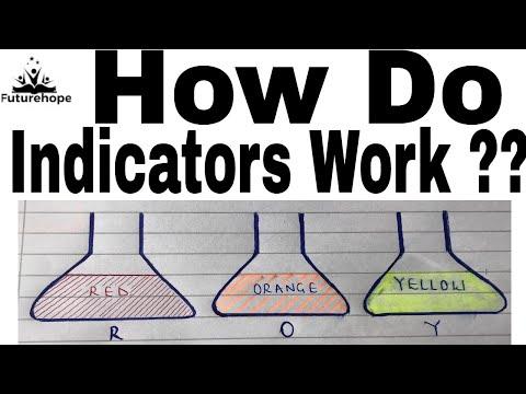 How Do Acid -  Base Indicators Work ??