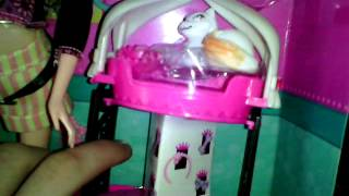 Обзор на куклу Барби и животных .
