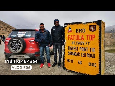 Adventurous Drive From Fatula Top To Leh, INB Trip EP #64