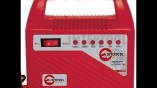 Зарядное устройство АКБ Intertool AT-3012 6A Обзор