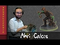 Ahri Calcos the Lizardfolk Rogue : Nightmare Timelapse Paintings - NerdoloPaints