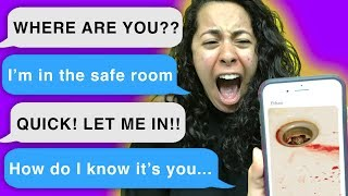 Somebody broke into my house! *SCARY TEXT STORY* (Cliffhanger | Mystery Gaming)