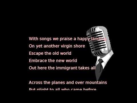 Robert Plant - New World... (lyrics)