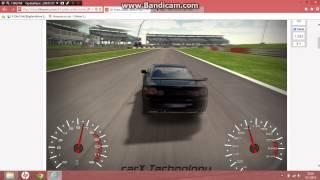 3D oyuncu sitesinde pistte araba sürme