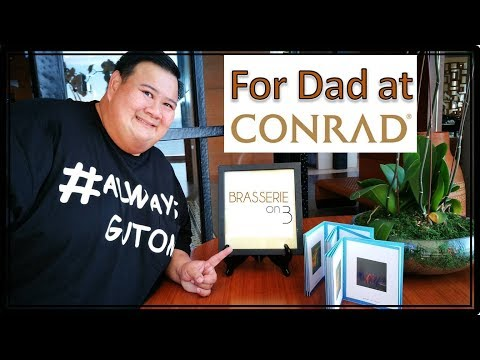 Conrad Hotel's Brasserie On 3 Restaurant Review - Always Gutom Never Busog Travel & Food Vlogs