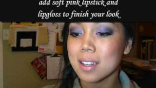 Eco-friendly tote and Lavender Makeup Tutorial
