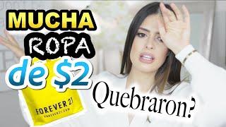 Gambar cover HAUL DE FOREVER 21 SUPER DESCUENTO / QUEBRARON ? LES CUENTO TODO Jeka Channel